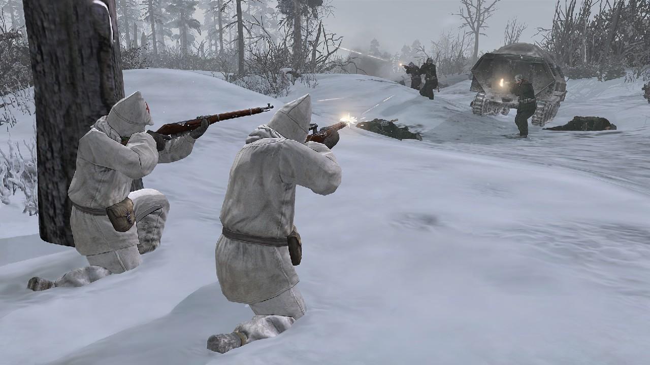 Extrémní zima v Company of Heroes 2 bude zabíjet 68357