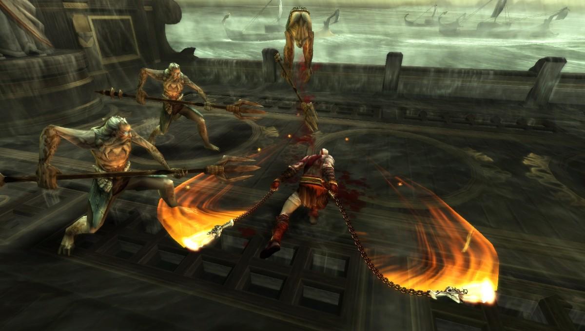 """PSP verze God of War s """"hlučným sexem"""" 6842"""