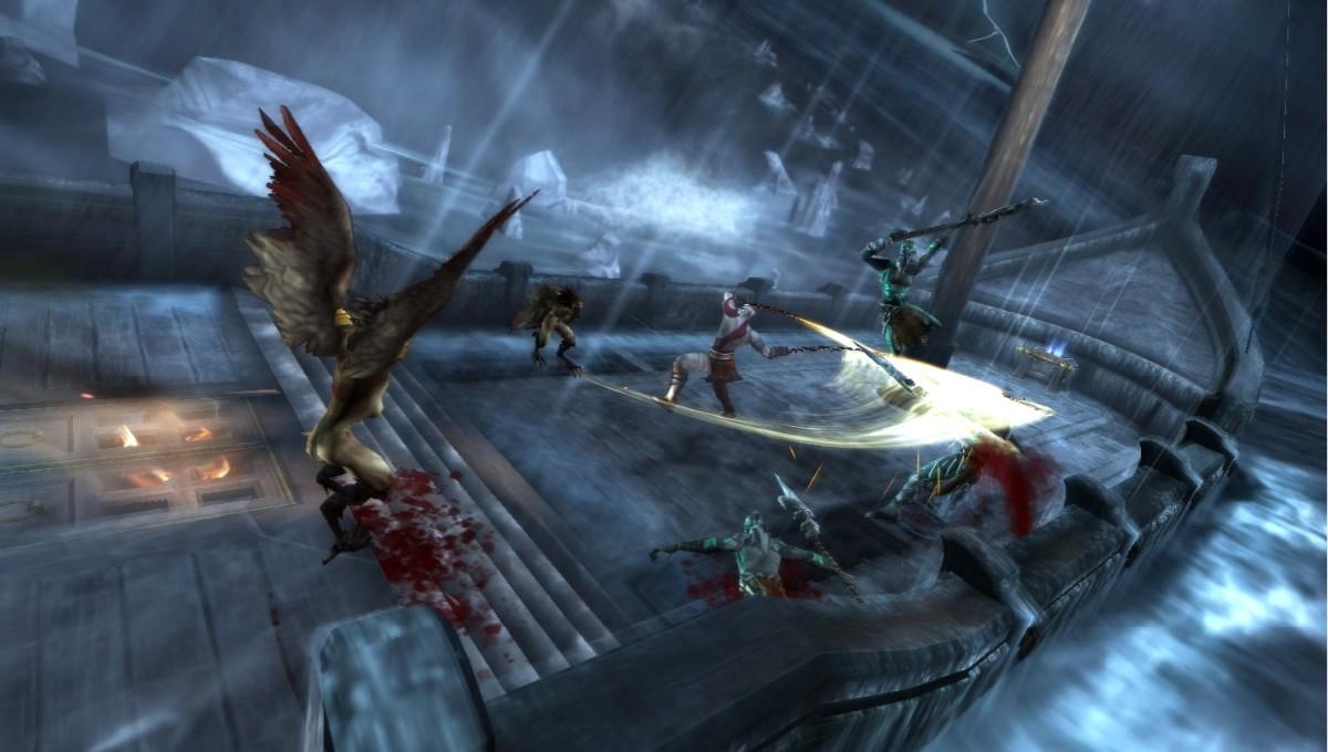 """PSP verze God of War s """"hlučným sexem"""" 6849"""