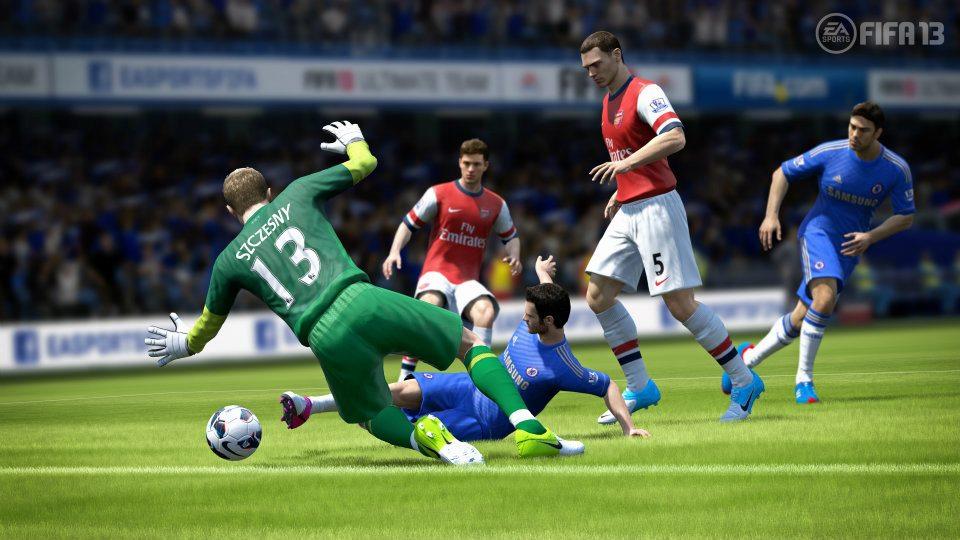 První obrázky z Wii U verze FIFA 13 68511