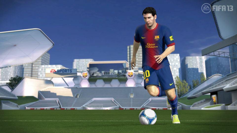 První obrázky z Wii U verze FIFA 13 68513