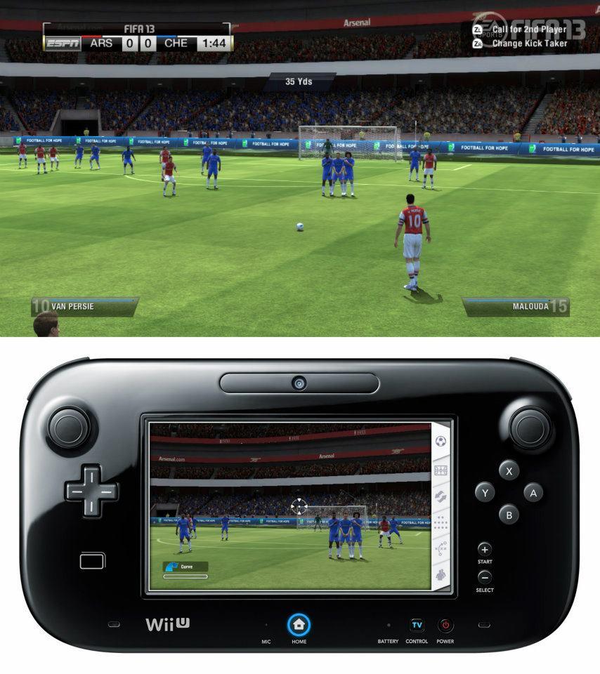 První obrázky z Wii U verze FIFA 13 68519