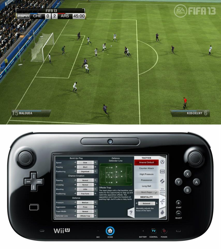 První obrázky z Wii U verze FIFA 13 68520