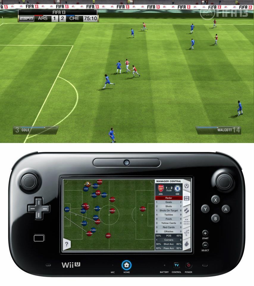 První obrázky z Wii U verze FIFA 13 68521