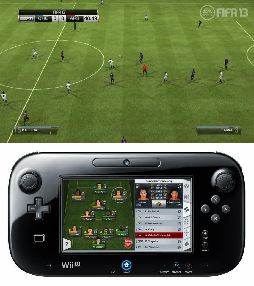 První obrázky z Wii U verze FIFA 13 68522