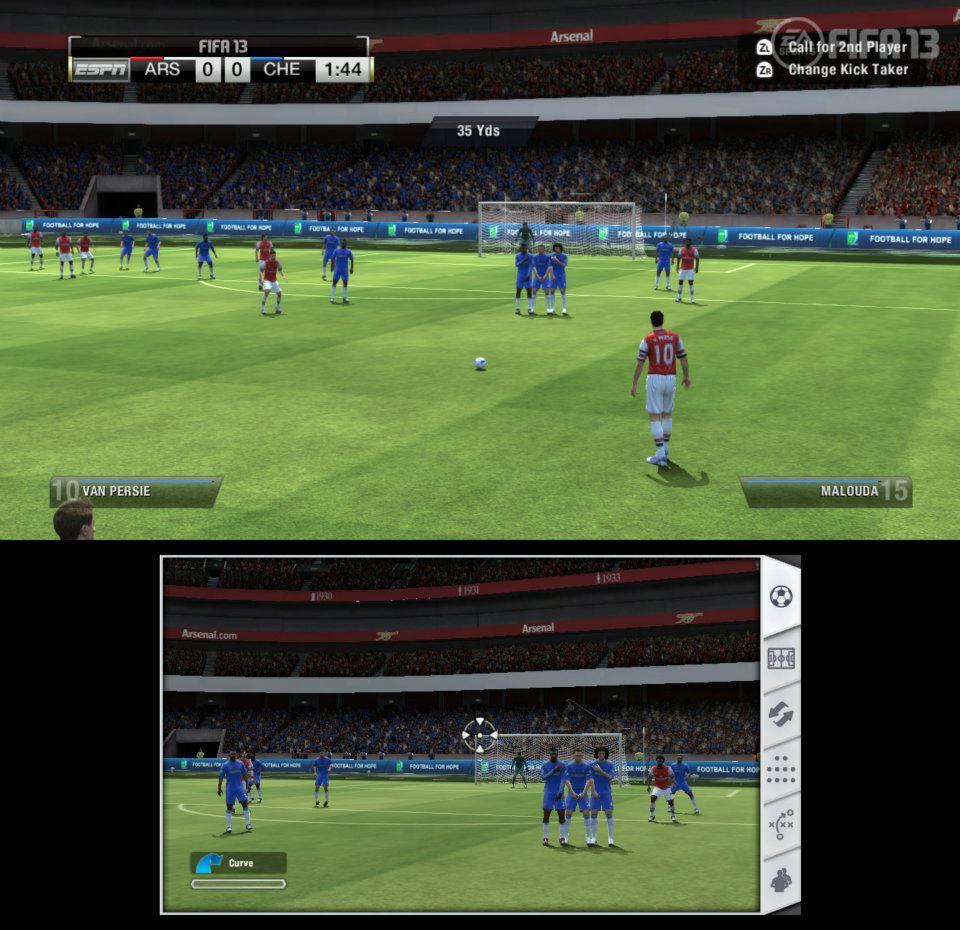 První obrázky z Wii U verze FIFA 13 68523