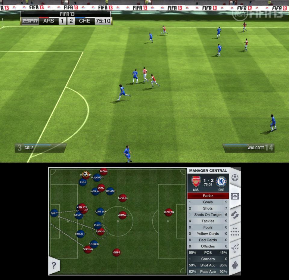 První obrázky z Wii U verze FIFA 13 68525