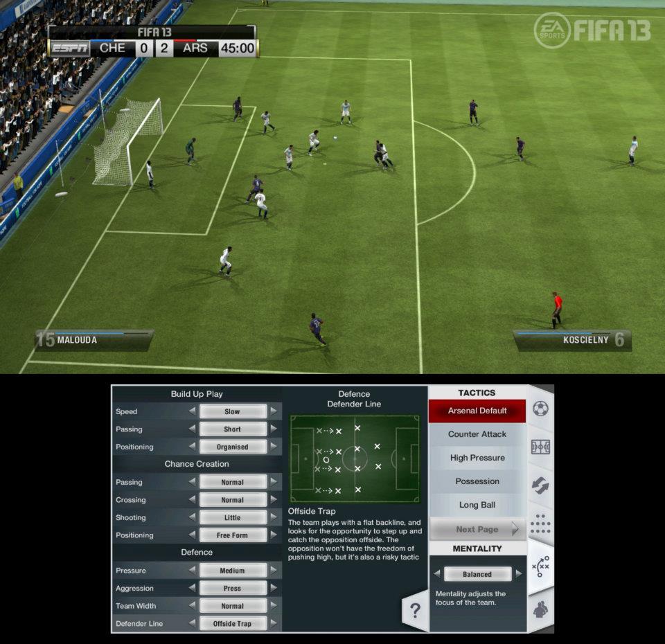První obrázky z Wii U verze FIFA 13 68526