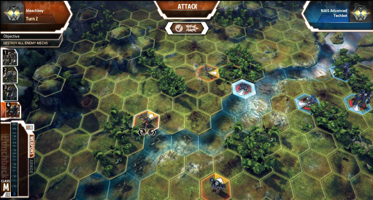 Screenshoty z MechWarrior Tactics 68554