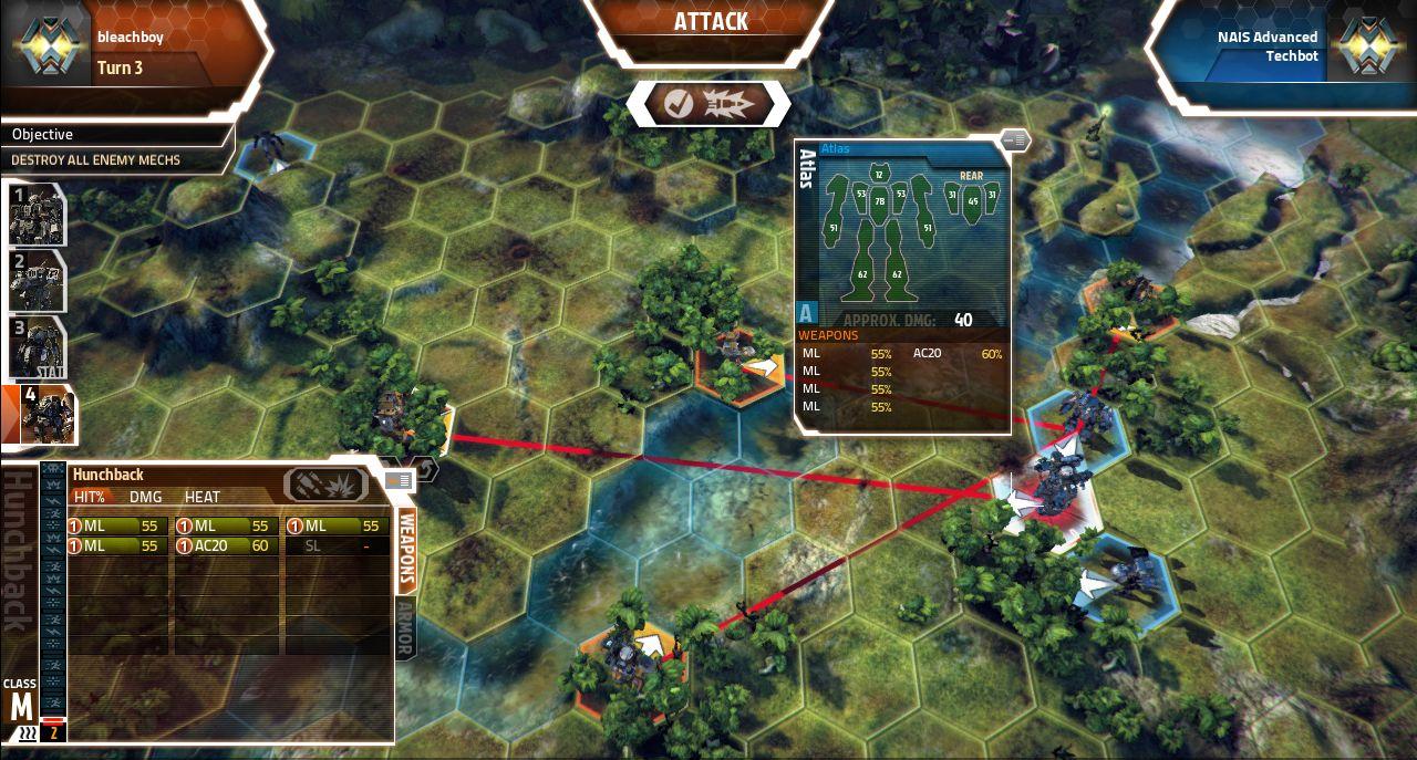 Screenshoty z MechWarrior Tactics 68555