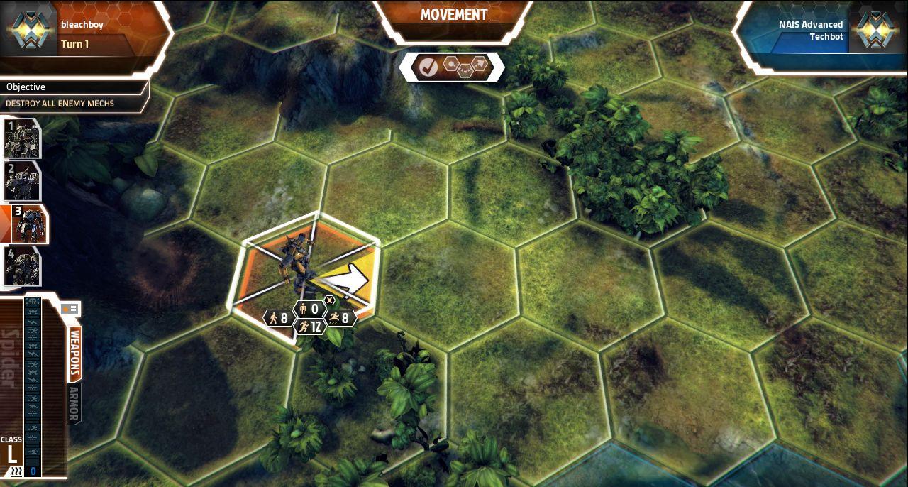 Screenshoty z MechWarrior Tactics 68561