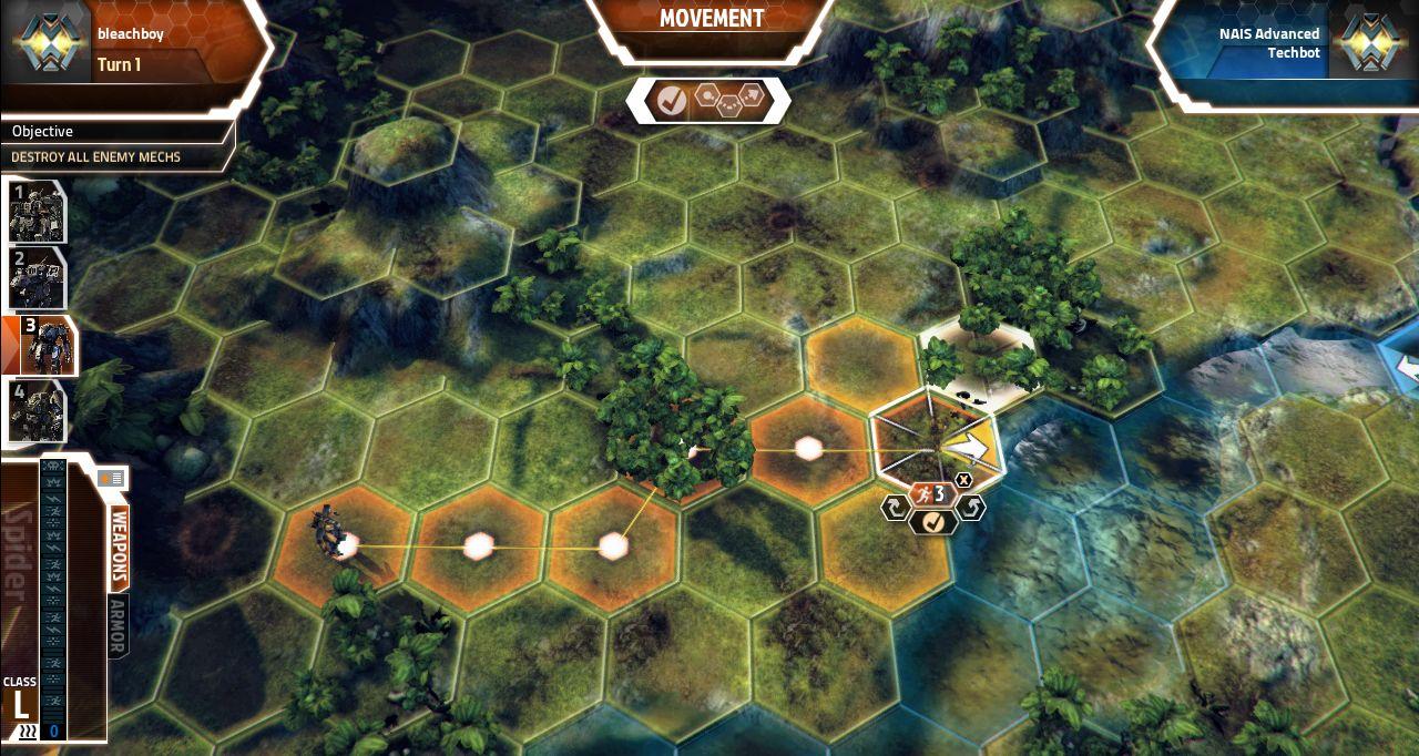 Screenshoty z MechWarrior Tactics 68562