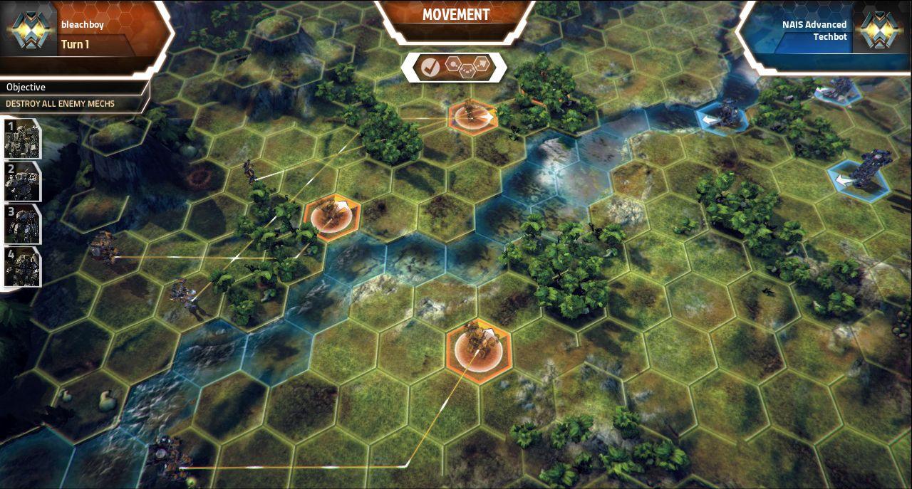 Screenshoty z MechWarrior Tactics 68563