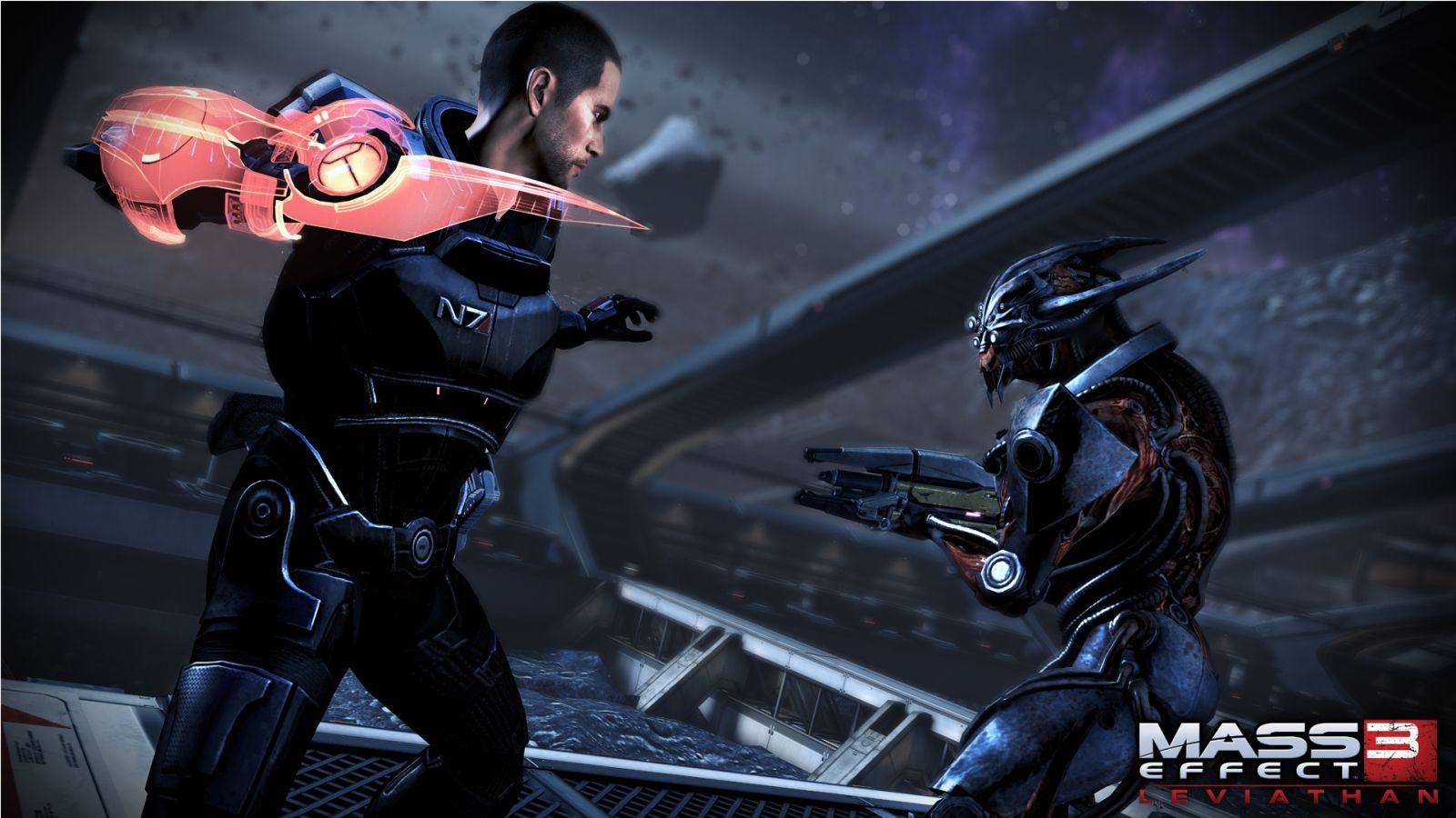 Oznámeny DLC Leviathan a Firefight k Mass Effectu 3 68581