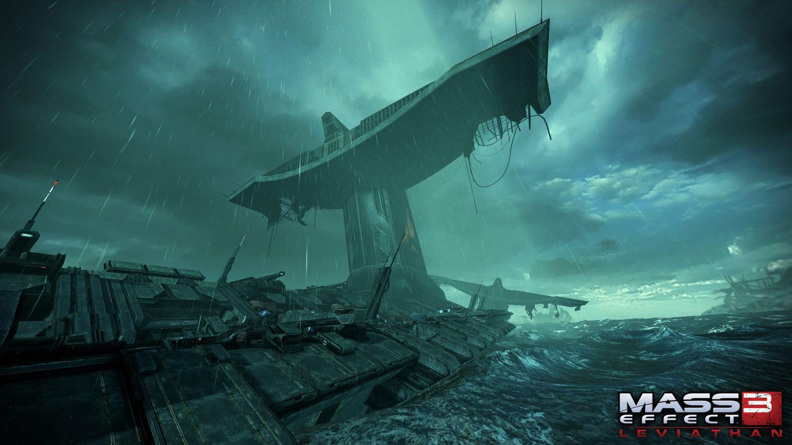 Oznámeny DLC Leviathan a Firefight k Mass Effectu 3 68582