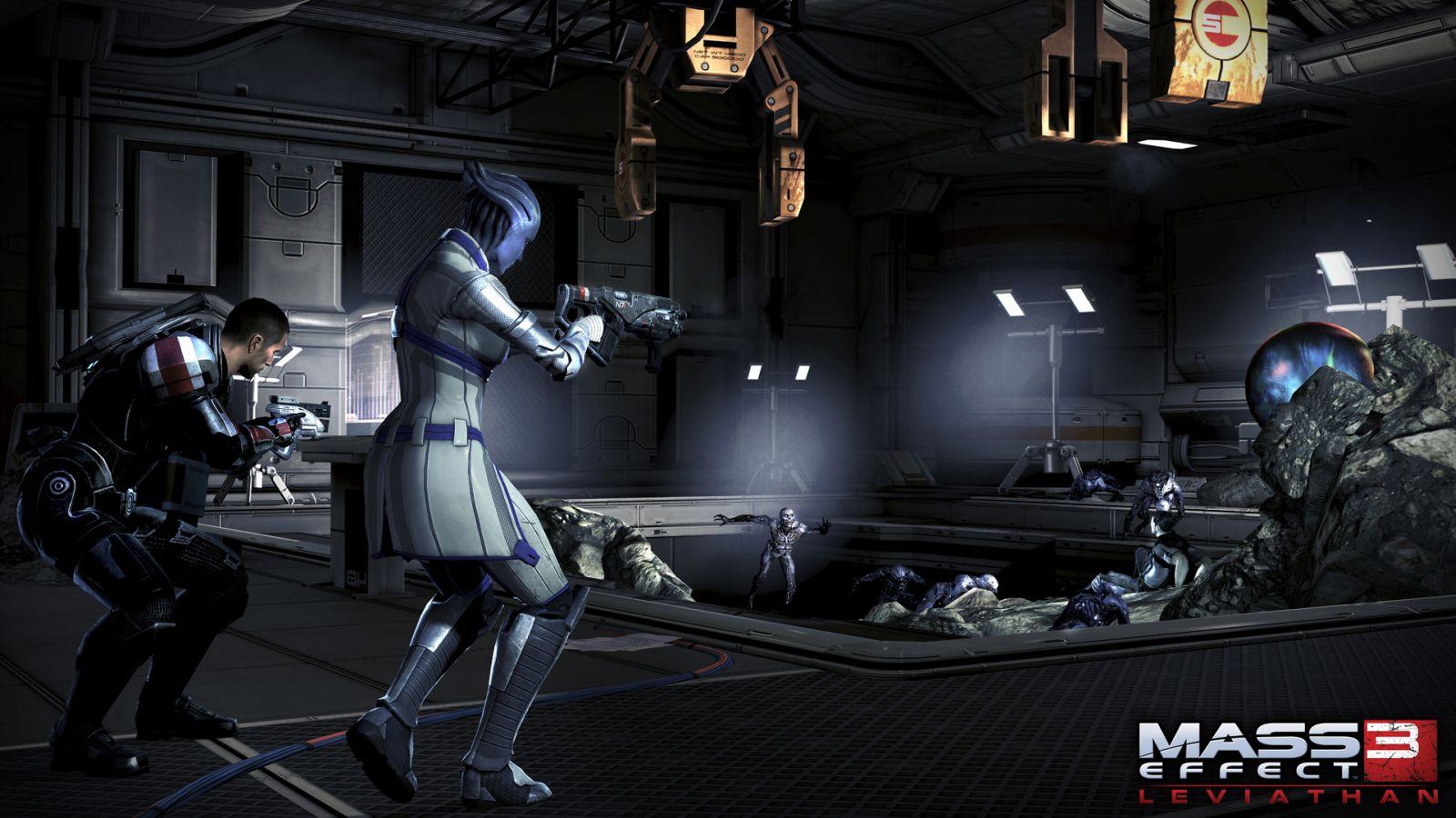 Oznámeny DLC Leviathan a Firefight k Mass Effectu 3 68583