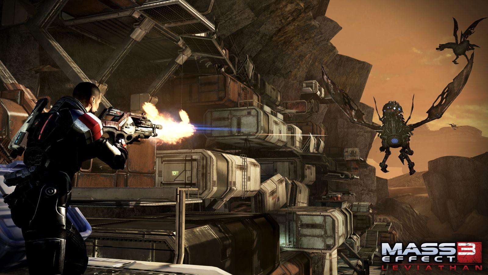 Oznámeny DLC Leviathan a Firefight k Mass Effectu 3 68584