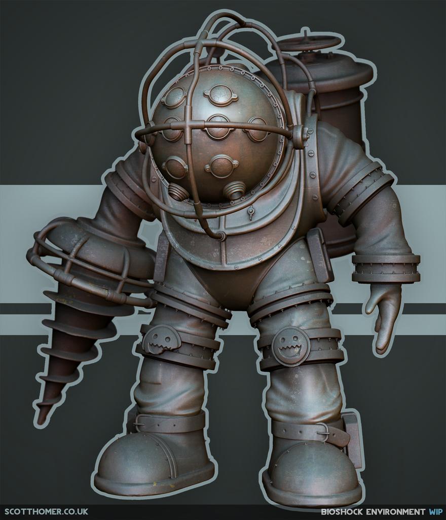 Obrázky BioShocku v enginu od Cryteku 68711