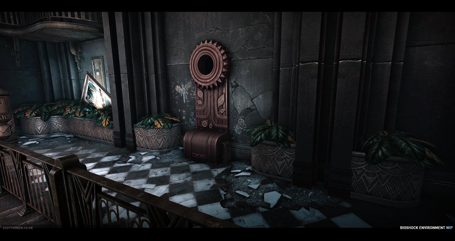 Obrázky BioShocku v enginu od Cryteku 68714