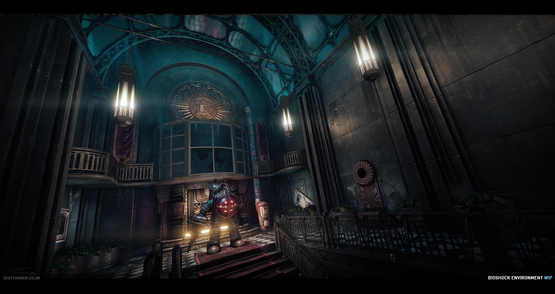 Obrázky BioShocku v enginu od Cryteku 68715