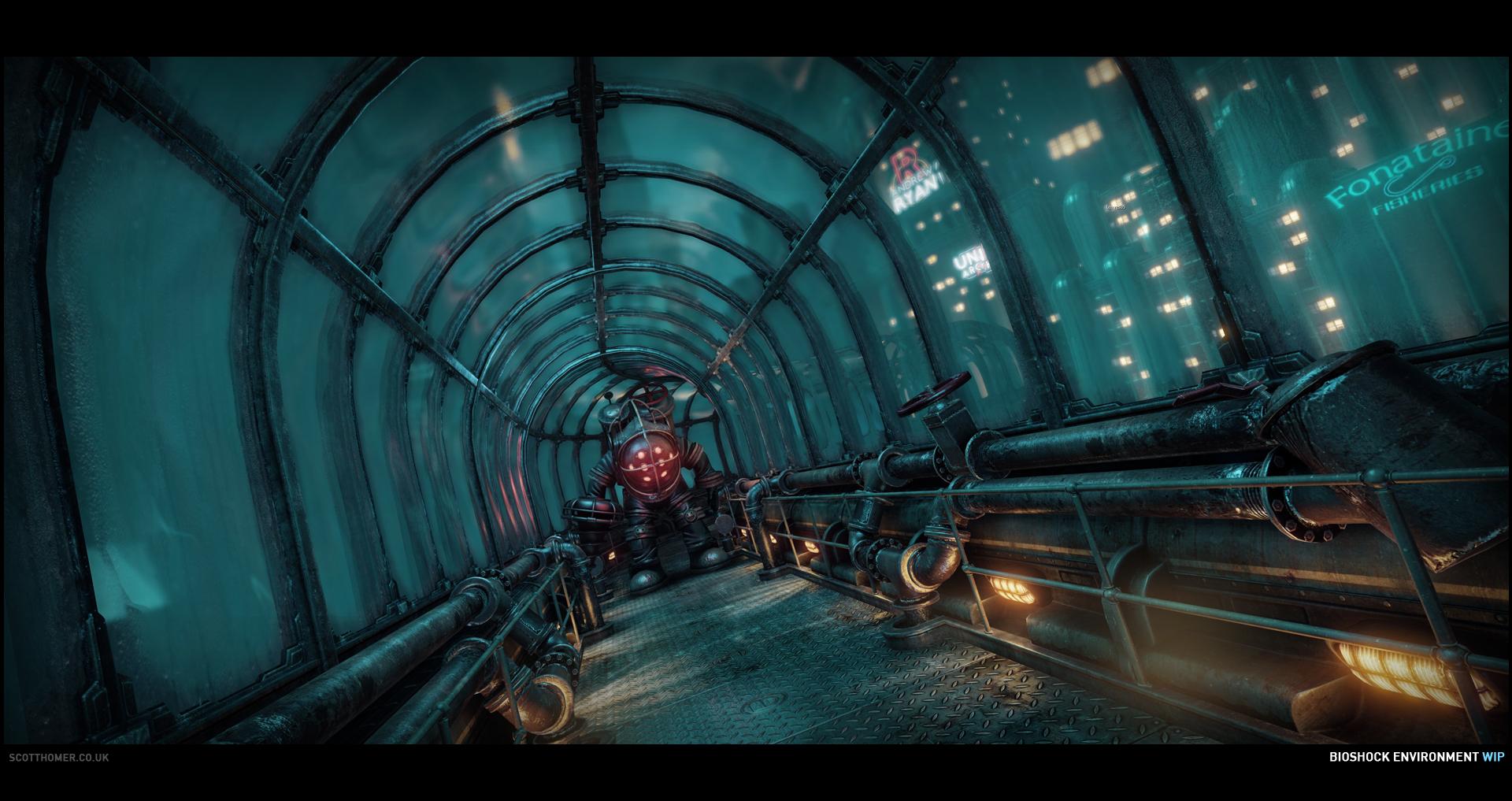 Obrázky BioShocku v enginu od Cryteku 68716