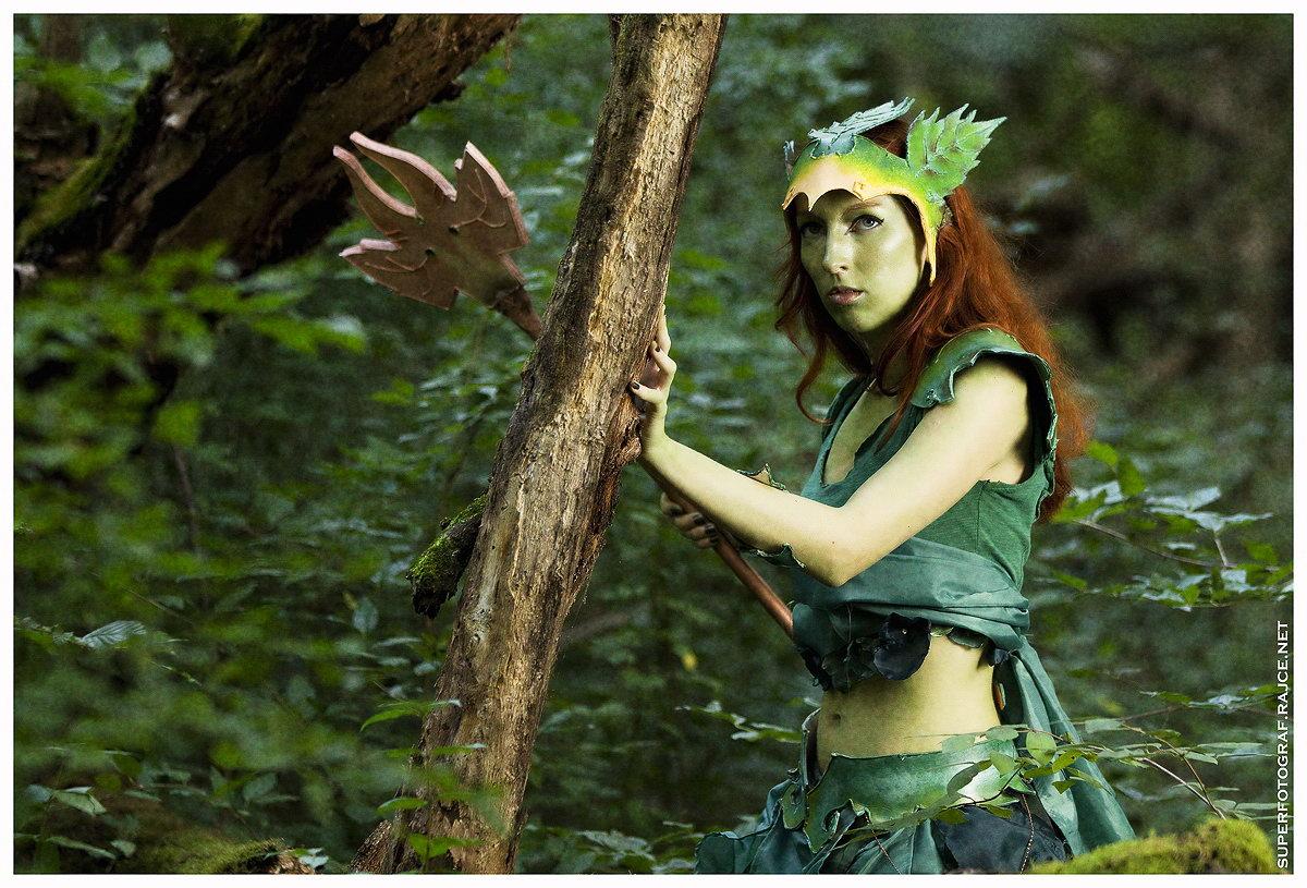 Český cosplay v Guild Wars 2 - živá Sylvari 68761