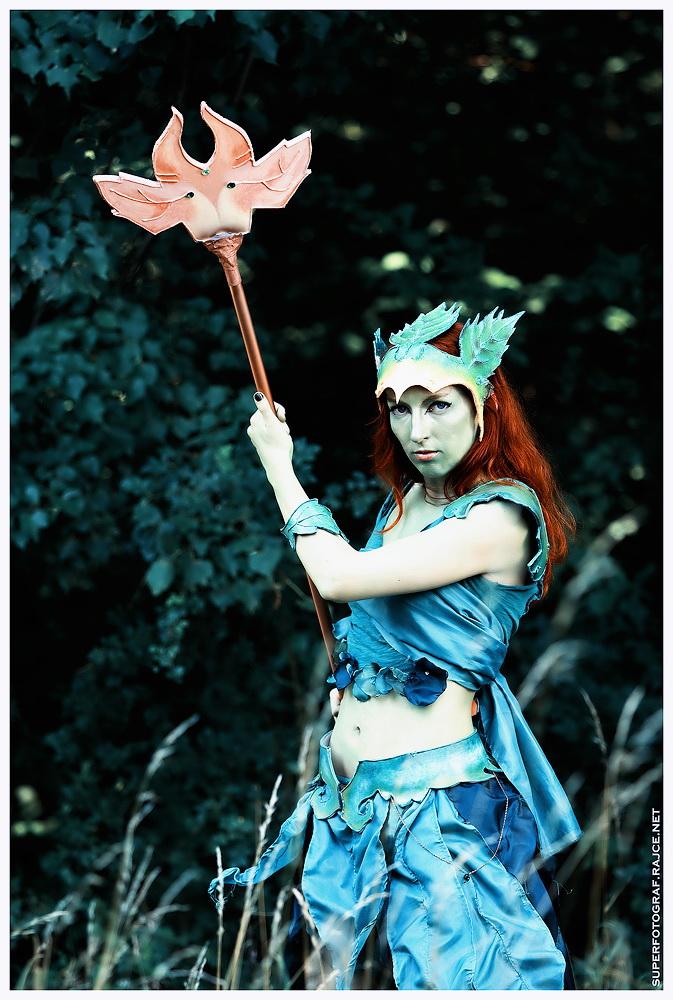 Český cosplay v Guild Wars 2 - živá Sylvari 68762