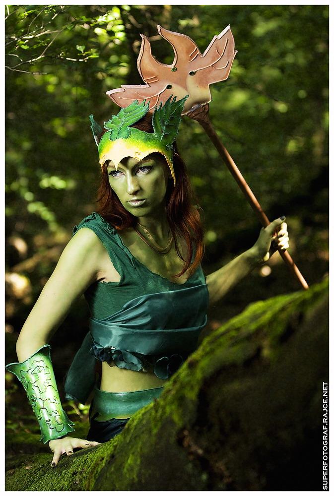 Český cosplay v Guild Wars 2 - živá Sylvari 68763