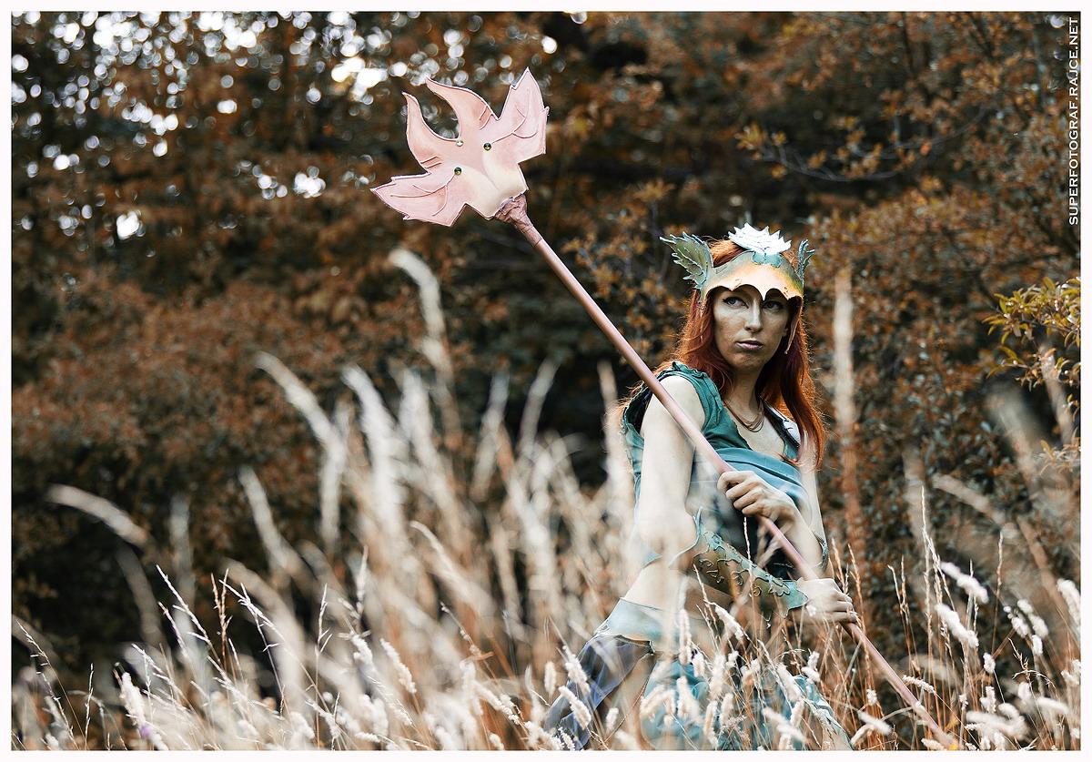 Český cosplay v Guild Wars 2 - živá Sylvari 68764