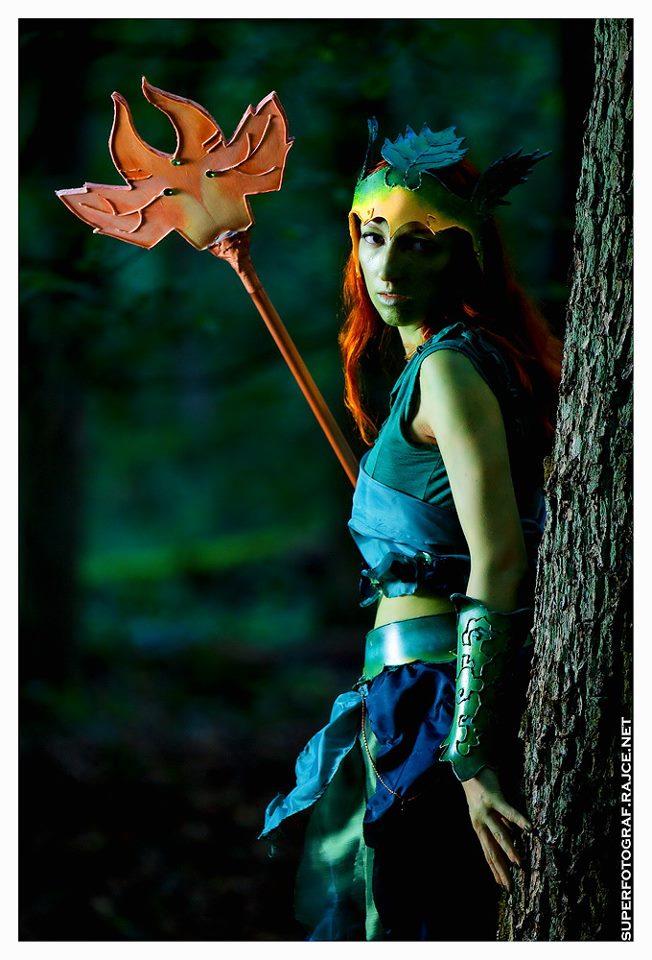 Český cosplay v Guild Wars 2 - živá Sylvari 68766