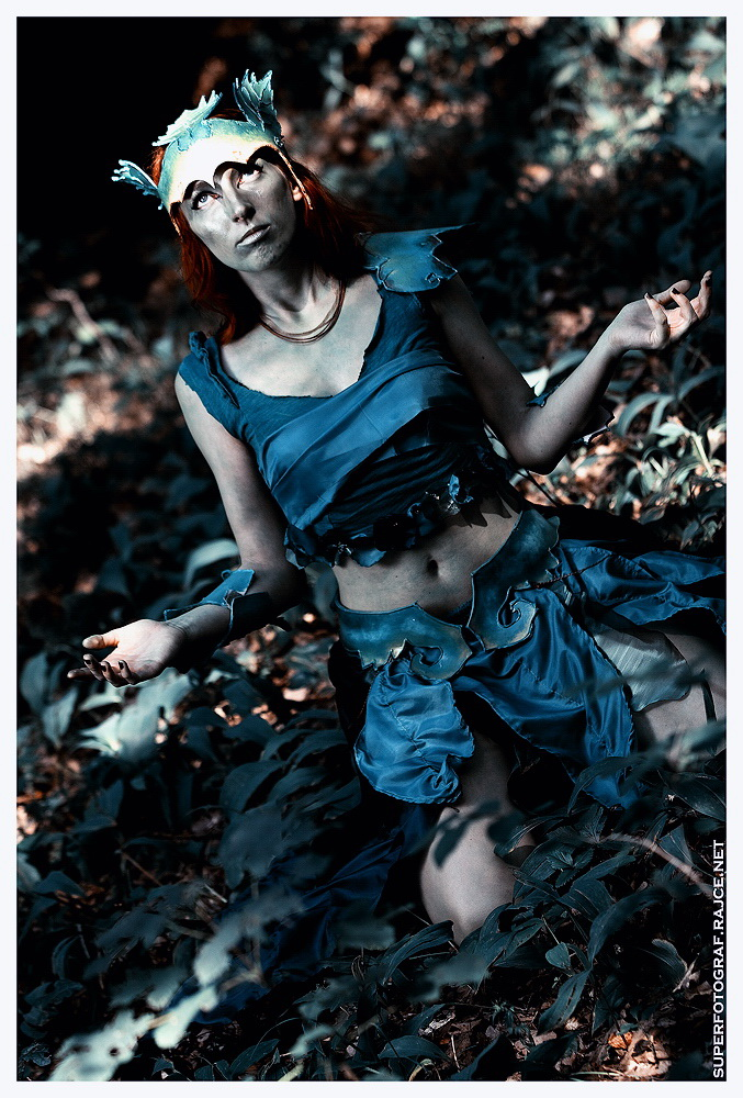 Český cosplay v Guild Wars 2 - živá Sylvari 68768