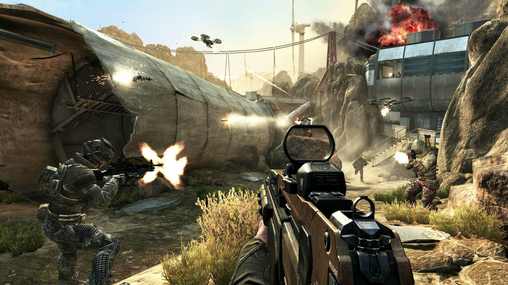Nálož informací o multiplayeru Call of Duty: Black Ops 2.