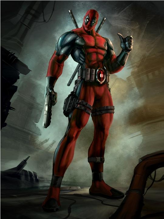 První obrázky a artworky z Deadpool 69041
