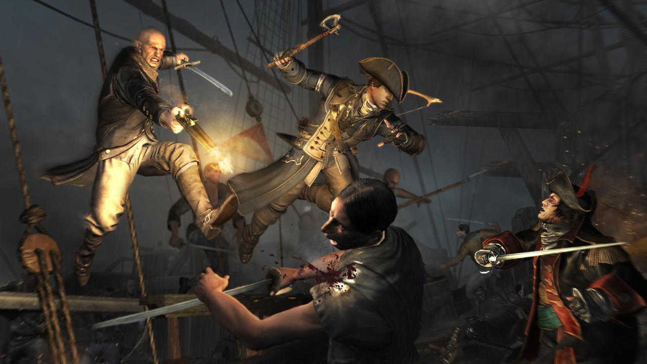 Nové obrázky z Assassin's Creed 3 69060