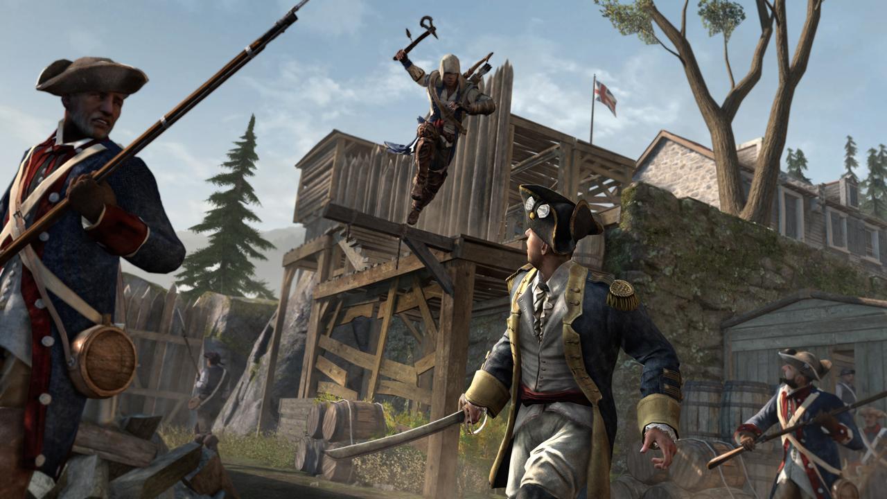 Nové obrázky z Assassin's Creed 3 69063