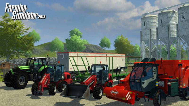 Farming Simulator 2013 s vylepšenou grafikou a dalšími stroji 69084