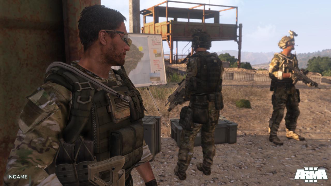 Arma 3 posílá pozdrav z Gamescomu prostřednictvím nových screenů 69086
