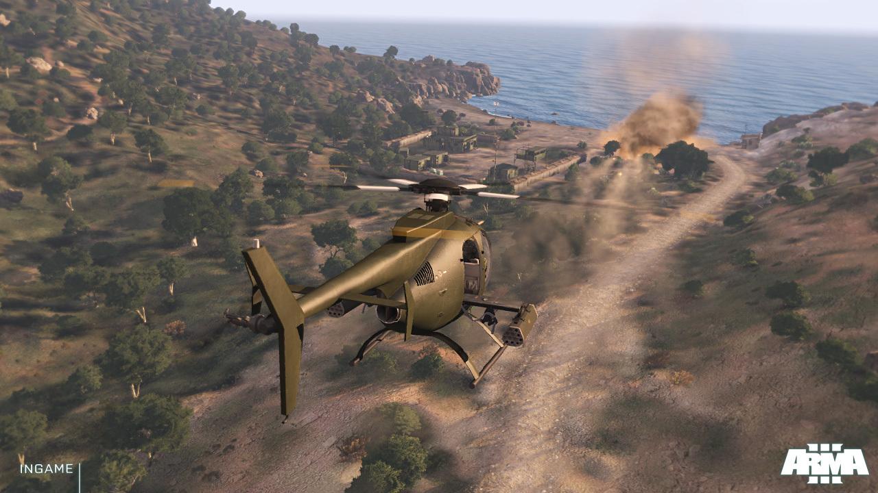 Arma 3 posílá pozdrav z Gamescomu prostřednictvím nových screenů 69093