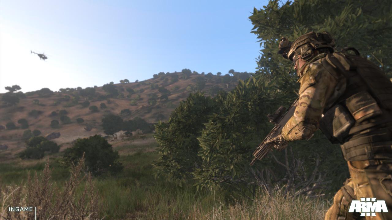 Arma 3 posílá pozdrav z Gamescomu prostřednictvím nových screenů 69096