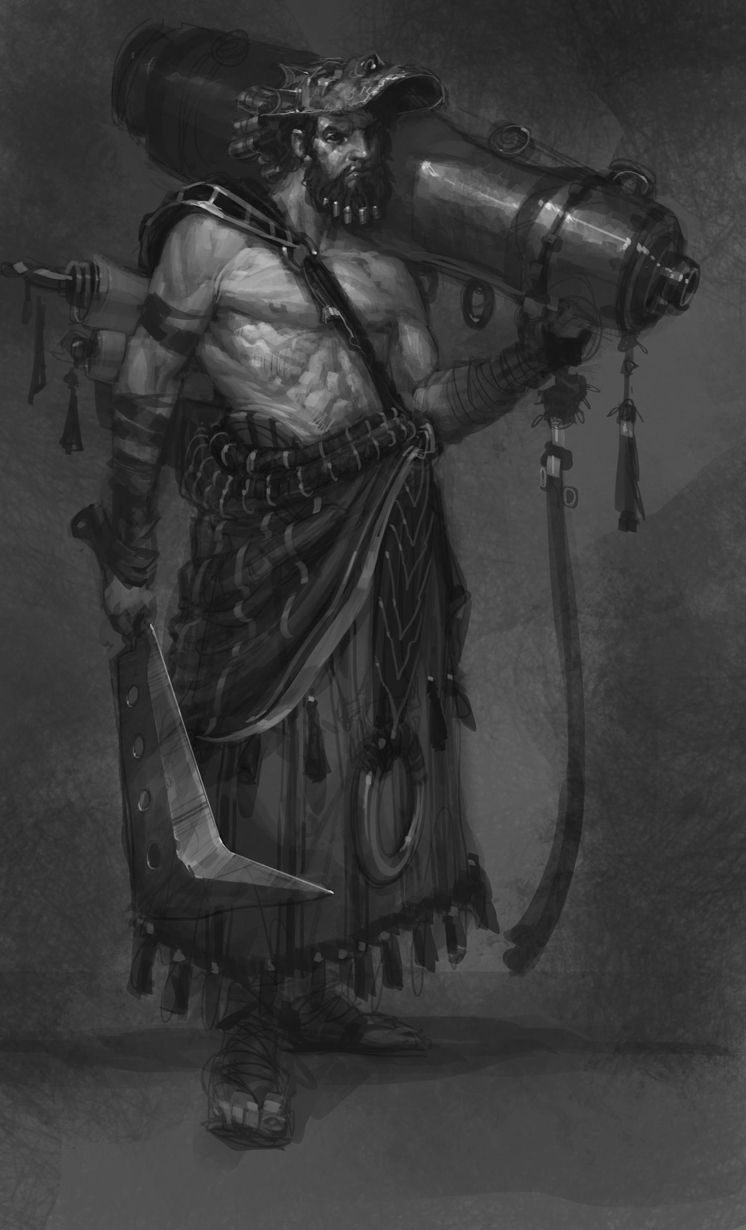 Artworky z God of War: Ascension 69278