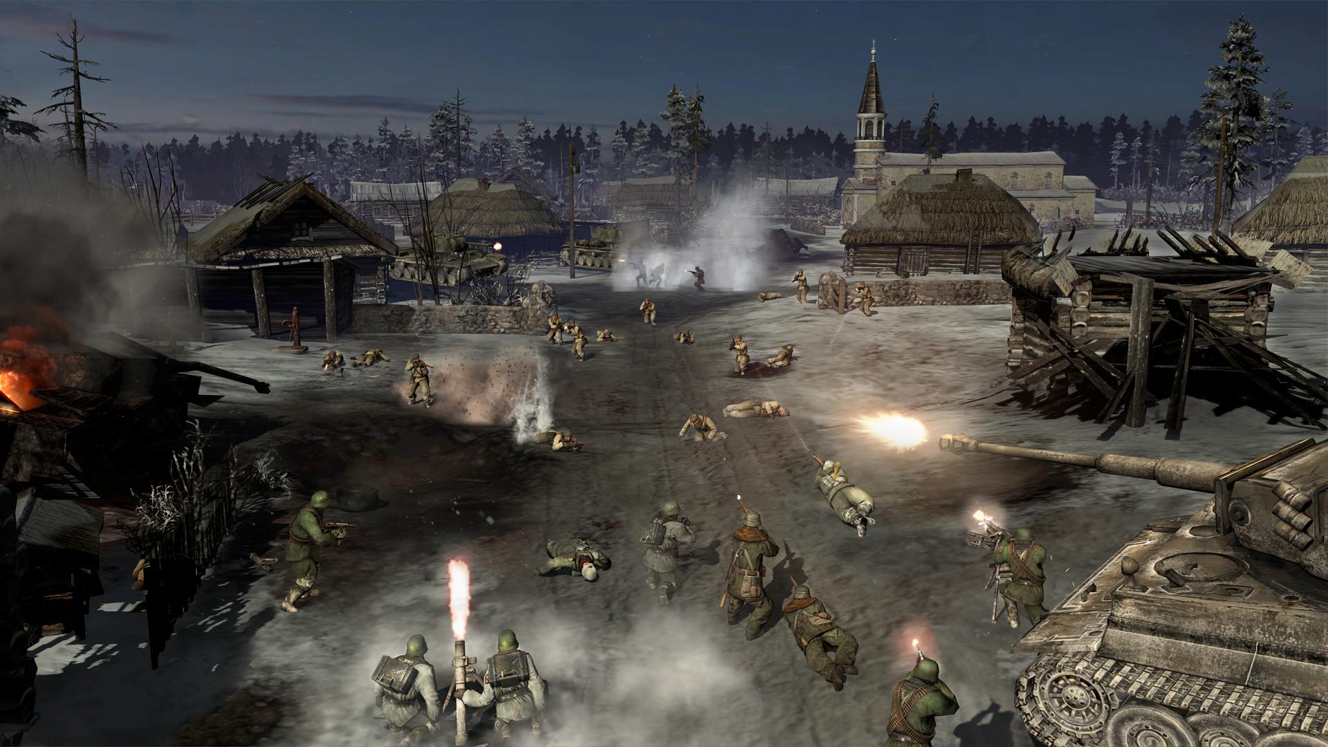 Gamescom obrázky z Company of Heroes 2 69305