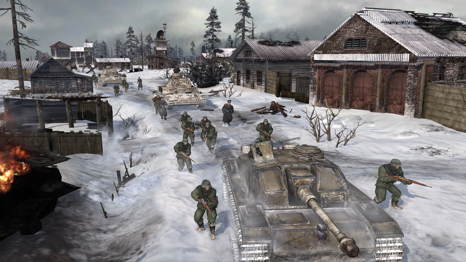 Gamescom obrázky z Company of Heroes 2 69307