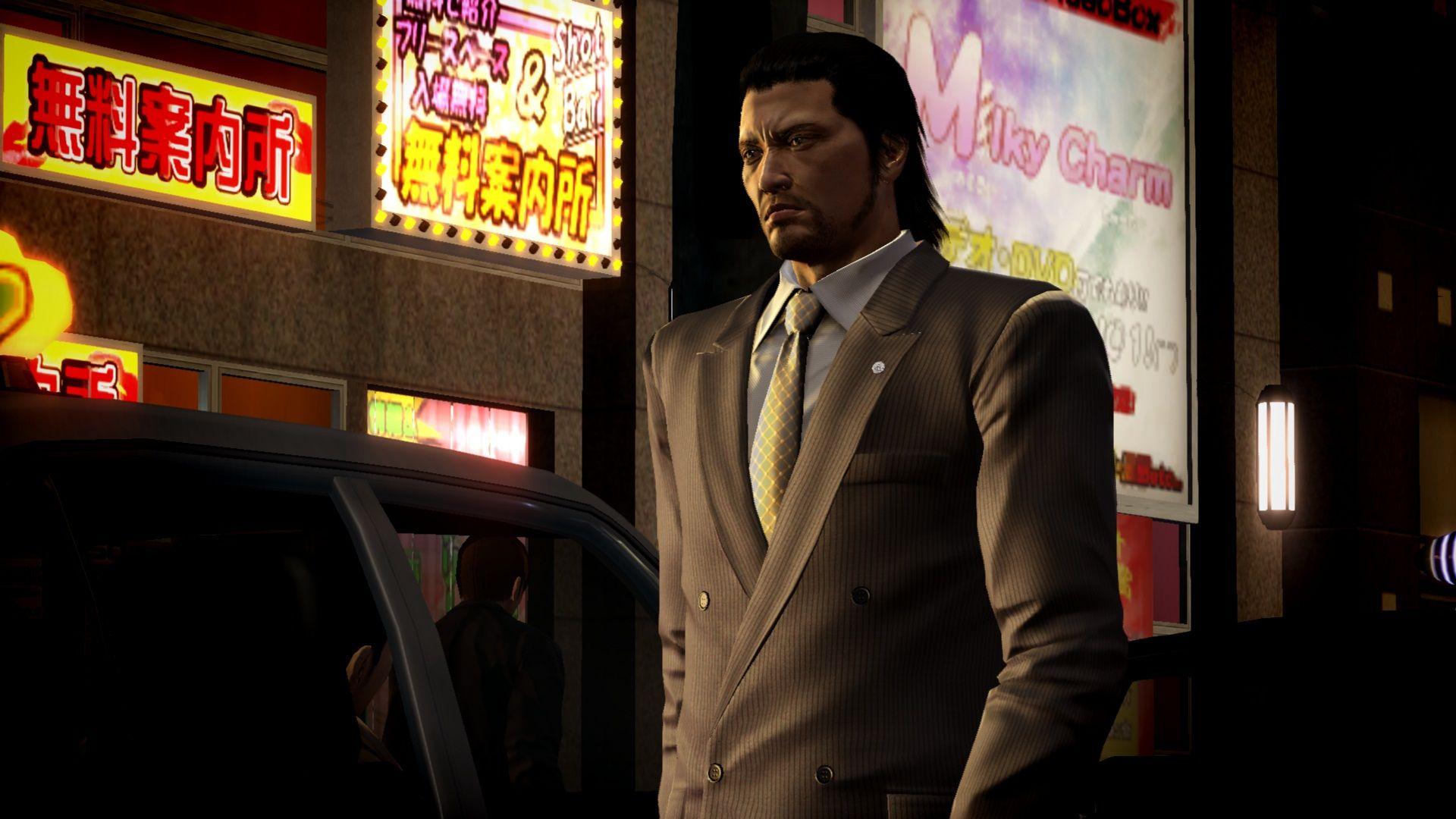 Gangsteři na obrázcích z Yakuza 5 69372