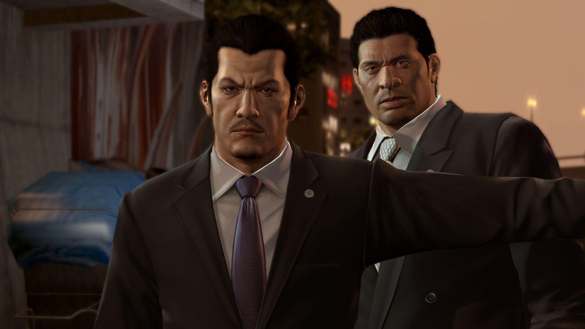 Gangsteři na obrázcích z Yakuza 5 69376