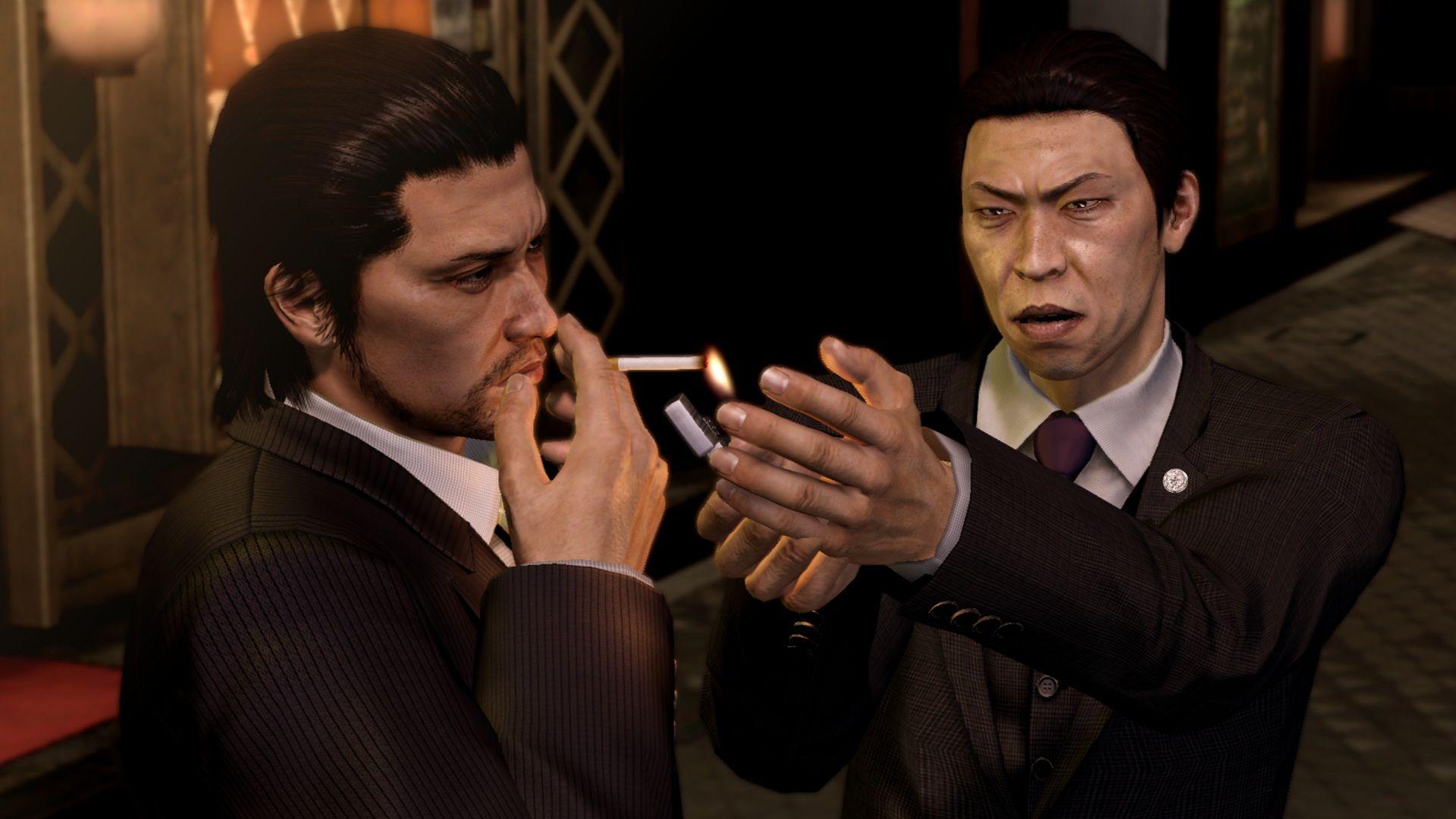 Gangsteři na obrázcích z Yakuza 5 69381