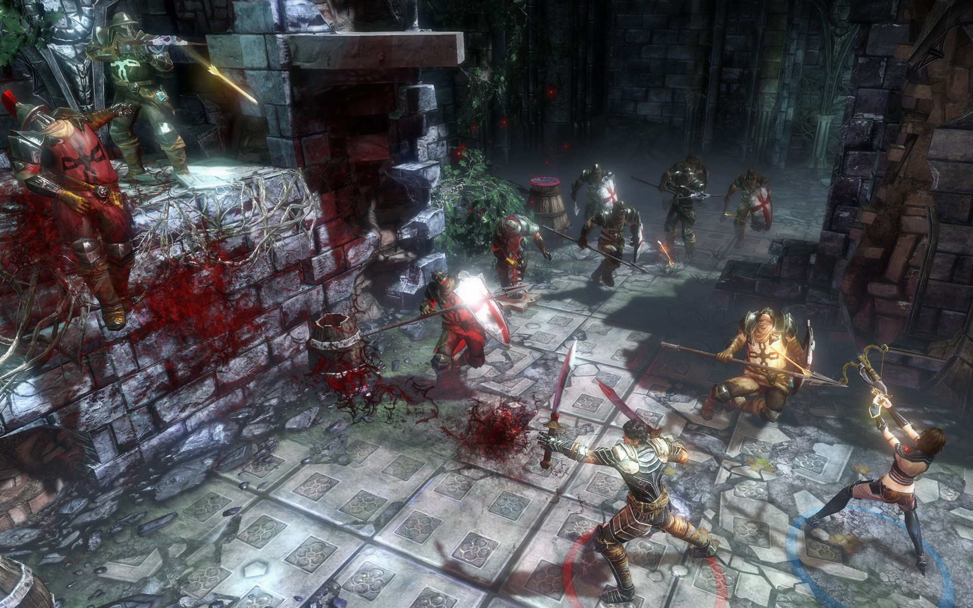 Blood Knights, nová hack'n'slay RPG akce 69649