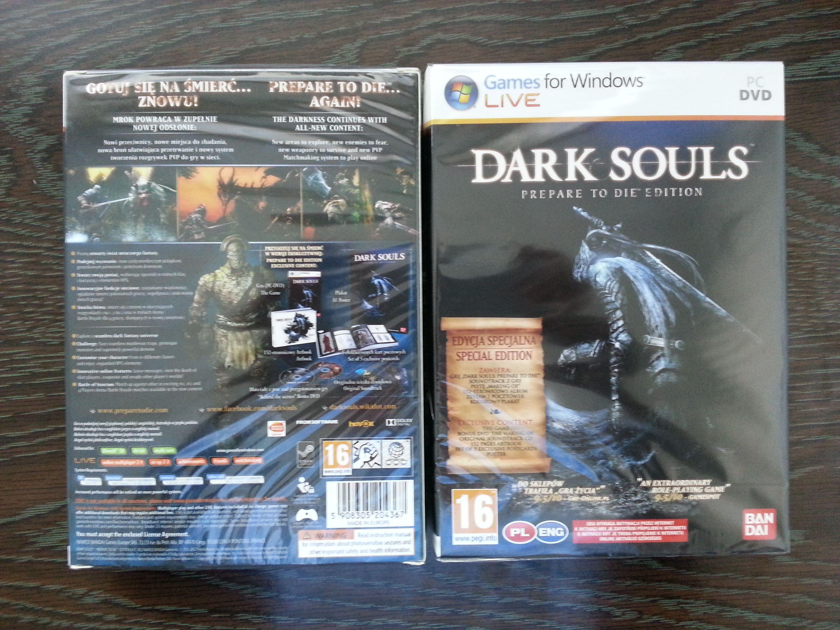 PC verze Dark Souls za skvělých 778 Kč 69677