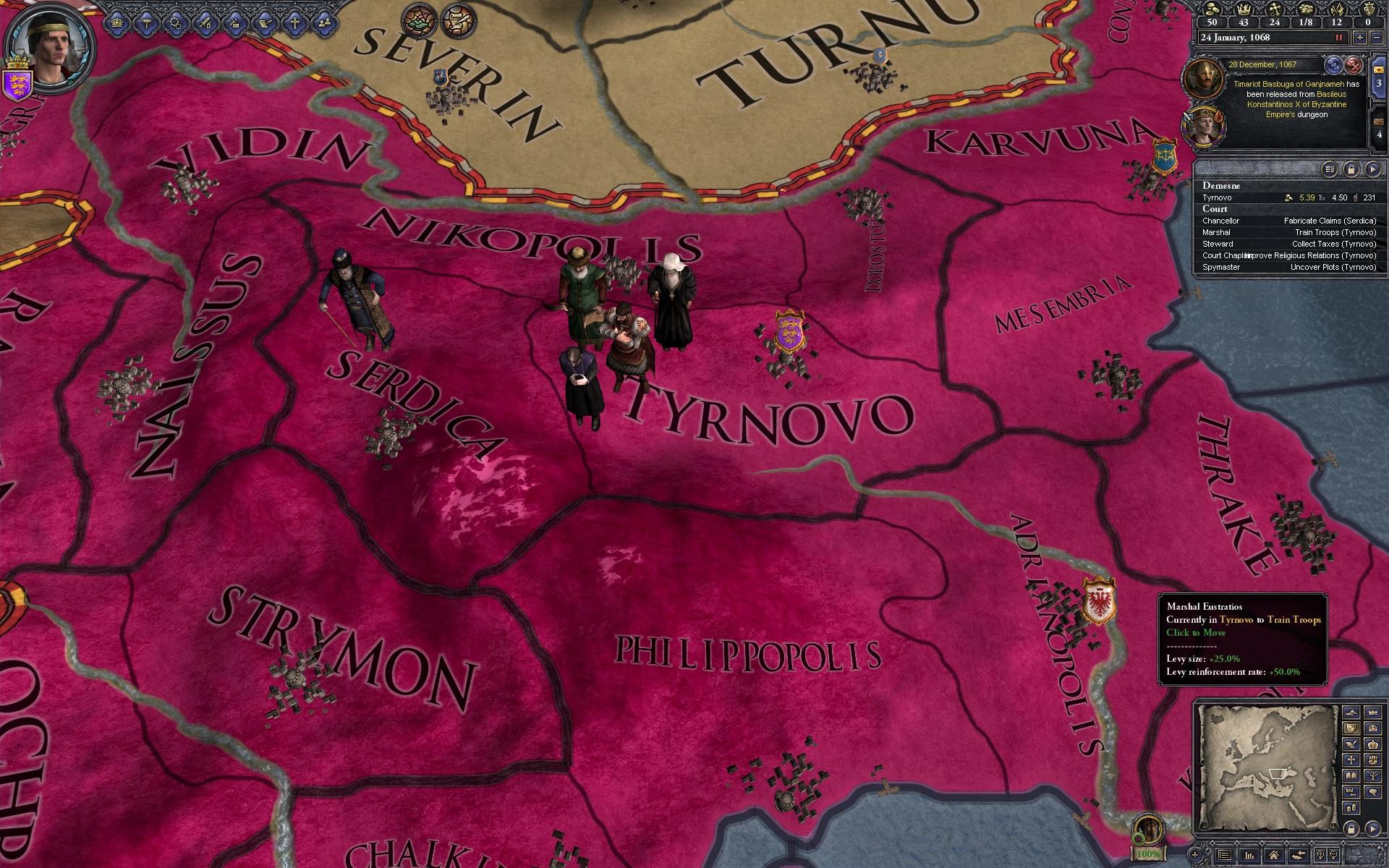Crusader Kings 2 s druhým rozšířením 69687