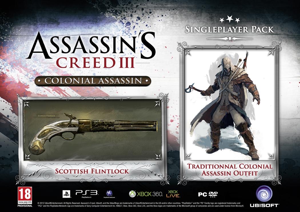 PC verze Assassin's Creed 3 s plakátem a balíčky za 798 Kč 69691