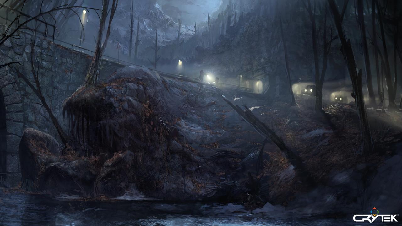 Tvůrci Crysis odhalili artworky ze zrušené hry 69770
